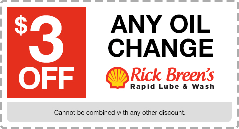 Rick Breen's Coupon - Oil Change